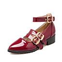 ราคาถูก รองเท้าส้นสูงผู้หญิง-สตรี-ความสะดวกสบาย-ส้นก้อน Block Heel-สำนักงานและอาชีพ แต่งตัว ไม่เป็นทางการ--รองเท้าส้นสูง-หนังเทียม