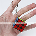 cheap Rubik's Cubes-Rubik's Cube Smooth Speed Cube Magic Cube Key Chain Puzzle Cube Smooth Sticker Fun Classic Gift Fun & Whimsical Classic Unisex