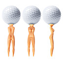 billige Treningsutstyr til golf-golf tilbehør Golf tee Vanntett Bærbar Holdbar Gjenanvendelige Plast til Golf - 50 stk