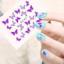 cheap Nail Stickers-5pcs/set Water Transfer Sticker nail art Manicure Pedicure Fashion Daily