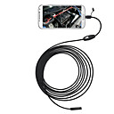 abordables Lampes & Lanternes de Camping-3 en 1 5.5mm usb endoscope 6 led étanche ip67 endoscope caméra d'inspection 3.5 m pour android windows