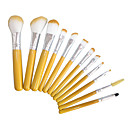 cheap Makeup Brush Sets-12pcs contour brush makeup brush set blush brush eyeshadow brush brow brush concealer brush foundation brush synthetic hairtravel full