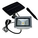 baratos Lâmpada de LED a Energia Solar-10 W Focos de LED Instalação Fácil Branco Quente / Branco Frio 24 V Garagem / Iluminação Externa 1 Contas LED