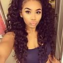 זול אספקת חומרי ניקוי למטבח-שיער אנושי חלק קדמי תחרה ללא דבק / חזית תחרה פאה Kinky Curly פאה 130% שיער טבעי / פאה אפרו-אמריקאית / 100% קשירה ידנית בגדי ריקוד נשים קצר / בינוני / ארוך פיאות תחרה משיער אנושי / קינקי קרלי