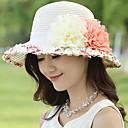 cheap Artificial Flower-Women's Street chic Sun Hat - Patchwork