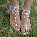 cheap Body Jewelry-Barefoot Sandals - Bird Fashion Silver For Wedding / Party / Halloween / Women's