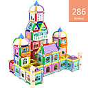 cheap Foam Blocks-Magnetic Blocks Magnetic Sticks Building Blocks 286 pcs Fun & Whimsical Unisex Boys' Girls' Toy Gift