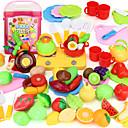 זול מטבחי צעצוע ואוכל צעצוע-ערכות מטבח צעצוע מאכלי צעצוע משחקי דמויות PVC בגדי ריקוד ילדים בנים בנות צעצועים מתנות