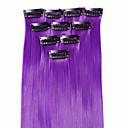 preiswerte Synthetische Haarverlängerungen-Neitsi Klassisch Synthetische Haare 18 Zoll Haar-Verlängerung Mit Clip Damen Alltag