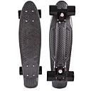 preiswerte Skateboarding-22 Zoll Cruisers Skateboard PP (Polypropylen) Berufs Schwarz