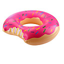 cheap Bath Toys-Duck Inflatable Pool Float Donut Pool Float Swim Rings Thick PVC(PolyVinyl Chloride) Kid's Boys' Girls' Toy Gift