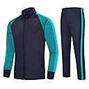 cheap Hiking Trousers & Shorts-Unisex Soccer Clothing Suit Breathable Comfortable Football / Soccer Solid Colored Terylene Navy Blue Sky Blue Red