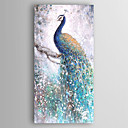 cheap Landscape Paintings-Hand-Painted Animals Vertical, Modern Canvas Oil Painting Home Decoration One Panel