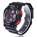baratos Relógios da Moda-Homens Relógio Esportivo / Relógio de Moda / Relógio Elegante Mostrador Grande Silicone Banda Amuleto Cores Múltiplas