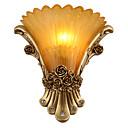זול פמוטי קיר-סגנון חלוד / בקתה / מסורתי / קלסי / מודרני / עכשווי מנורות קיר שרף אור קיר 110-120V / 220-240V 40W