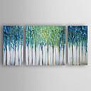 baratos Pinturas a Óleo-Pintura a Óleo Pintados à mão - Abstrato Modern Tela de pintura / Lona esticada