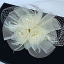 cheap Party Headpieces-Feather / Net Fascinators / Birdcage Veils with 1 Wedding / Special Occasion Headpiece