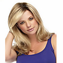 cheap Synthetic Capless Wigs-synthetic wigs body wave ombre 1b blonde color heat resistant wigs for women