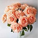 olcso Művirág-Művirágok 5 Ág Modern stílus Rózsák Asztali virág