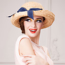 cheap Party Headpieces-Basketwork Fabric Hats Headpiece Wedding Party Elegant Feminine Style