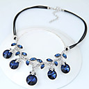 cheap Necklaces-Women's Statement Necklace - Fashion, Euramerican Dark Blue, Rainbow Necklace For Party
