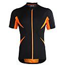 ieftine Becuri LED-Jaggad Bărbați / Pentru femei Manșon scurt Jerseu Cycling Bicicletă Jerseu, Uscare rapidă, Respirabil Poliester