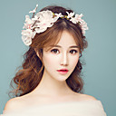 cheap Party Headpieces-Tulle / Fabric Flowers with 1 Wedding / Special Occasion / Outdoor Headpiece