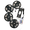 cheap LED Strip Lights-ZDM® 20m Light Sets 600 LEDs 5050 SMD RGB Remote Control / RC / Cuttable / Dimmable 100-240 V / IP65 / Waterproof / Self-adhesive
