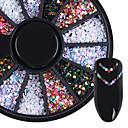 baratos Strass & Decorações-1box Purpurina Jóias de Unhas arte de unha Manicure e pedicure Diário Glitters / Fashion / Jóias de unha