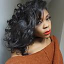 זול פיאות תחרה משיער אנושי-שיער אנושי תחרה מלאה פאה גלי משוחרר פאה 130% צפיפות שיער שיער טבעי פאה אפרו-אמריקאית 100% קשירה ידנית בגדי ריקוד נשים קצר בינוני פיאות תחרה משיער אנושי