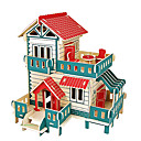 preiswerte Modelle & Modell Kits-3D - Puzzle Modellbausätze Holzmodelle Berühmte Gebäude Chinesische Architektur Spaß Holz Klassisch Kinder Unisex Spielzeuge Geschenk