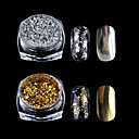 abordables Purpurina para Manicura-Polvo Clásico Nail Art Design Diario