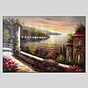 cheap Oil Paintings-Print Stretched Canvas - Landscape Classic / Modern
