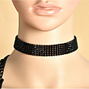 cheap Hair Accessories-Women's Choker Necklace / Y Necklace - Flower Basic Black Necklace Jewelry For Wedding, Party, Anniversary / Business / Engagement / Daily / Valentine