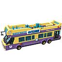 billige Byggeblokker-ENLIGHTEN Lekebiler / Byggeklosser / Pedagogisk leke 455 pcs Buss Klassisk Gutt Gave