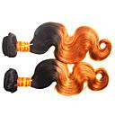 tanie Dopinki w naturalnych kolorach-Włosy malezyjskie Body wave Włosy naturalne remy Ombre Ombre Ludzkie włosy wyplata Ludzkich włosów rozszerzeniach