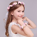 cheap Wedding Decorations-Foam Headbands / Flowers / Headwear with Floral 1pc Wedding / Special Occasion / Casual Headpiece