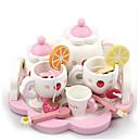 Недорогие Игрушечная еда и всё для кухни-Игрушка кухонные наборы Ролевые игры Play Kitchen Дерево Детские Игрушки Подарок 15 pcs