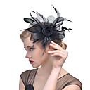 お買い得  パーティー用ヘッドピース-女性用 ハット 真珠 ヘアクリップ
