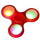 baratos Spinners de mão-Spinners de mão / Mão Spinner Alta Velocidade / Por matar o tempo / O stress e ansiedade alívio LED Spinner Plástico Clássico 1 pcs Peças Para Meninas Crianças / Adulto Dom