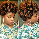 halpa Hiuspunokset-Letitetty Bouncy Curl Kiharat letit Synteettiset hiukset 1kpl / pakkaus, 20 juurta / pakkaus punokset 100% kanekalon-hiuksia