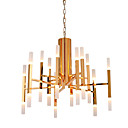 cheap Chandeliers-Ecolight™ Candle-style Chandelier Ambient Light - LED, Designers, 110-120V / 220-240V, Warm White, LED Light Source Included / 15-20㎡