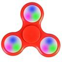 baratos Spinners de mão-Spinners de mão / Mão Spinner Iluminação / Por matar o tempo / O stress e ansiedade alívio LED Spinner Plástico Clássico Peças Para Meninas Crianças / Adulto Dom