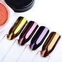 baratos Glitter para Unhas-Pó Clássico Nail Art Design Diário