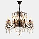 رخيصةأون ثريات-LightMyself™ 8-الضوء نجفات ضوء محيط - كريستال, LED, 110-120V / 220-240V لا يشمل لمبات / 30-40㎡ / E12 / E14