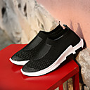 cheap Men's Sneakers-Men's Tulle Spring / Fall Comfort Sneakers Walking Shoes Black / Gray / Red