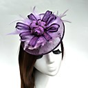 cheap Party Headpieces-Tulle / Feather / Net Fascinators / Hats / Birdcage Veils with 1 Wedding / Special Occasion Headpiece