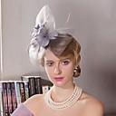 preiswerte Parykopfbedeckungen-Tüll / Feder Stirnbänder / Kopfbedeckung mit Blumig 1pc Hochzeit / Besondere Anlässe / Normal Kopfschmuck