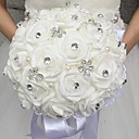 "cheap Wedding Flowers-Wedding Flowers Bouquets Wedding Bead / Rhinestone / Foam 11.02""(Approx.28cm)"