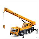 billige Toy Trucks & Construction Vehicles-H1 / Hua Yi Kran Leketrucker og byggebiler Lekebiler Plast Barne Gutt Jente Leketøy Gave